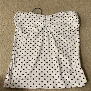 ‼️2️⃣ for $12‼️ polka dot tube top
